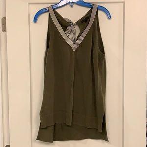 J.Crew Sweater Tie Top- Size M
